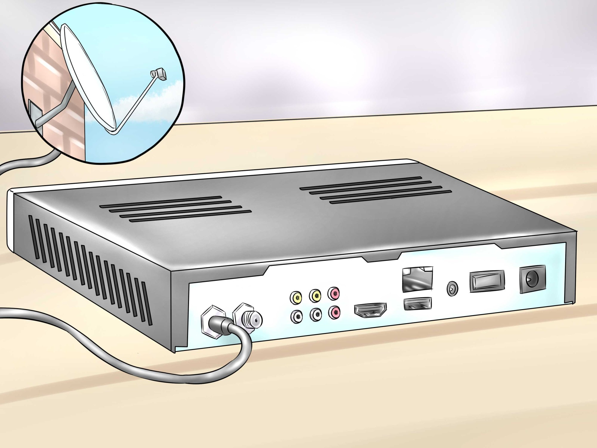 hight resolution of how to install and set up free to air satellite tv program receiver system