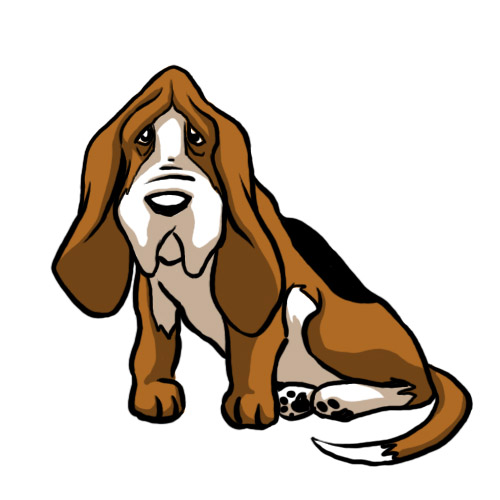 How To Draw A Basset Hound 8 Steps With Pictures WikiHow