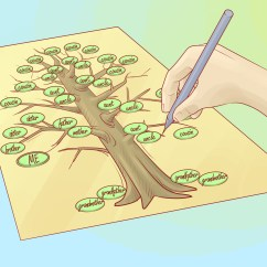 How To Draw A Family Tree Diagram Car Starter Wiring 10 Steps With Pictures Wikihow