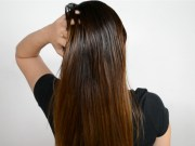 make pin straight hair