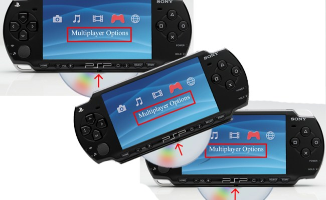How To Play Multi Player With One Umd On Sony Psps 4 Steps