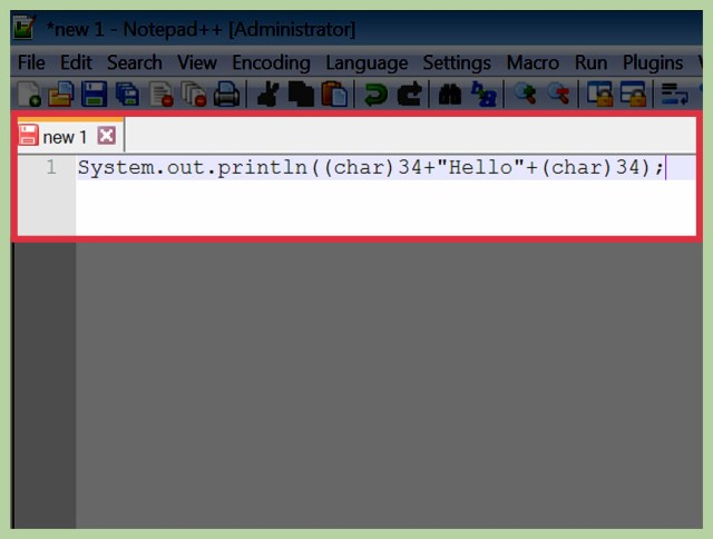 How to Print Double Quotes in Java (with Pictures) - wikiHow