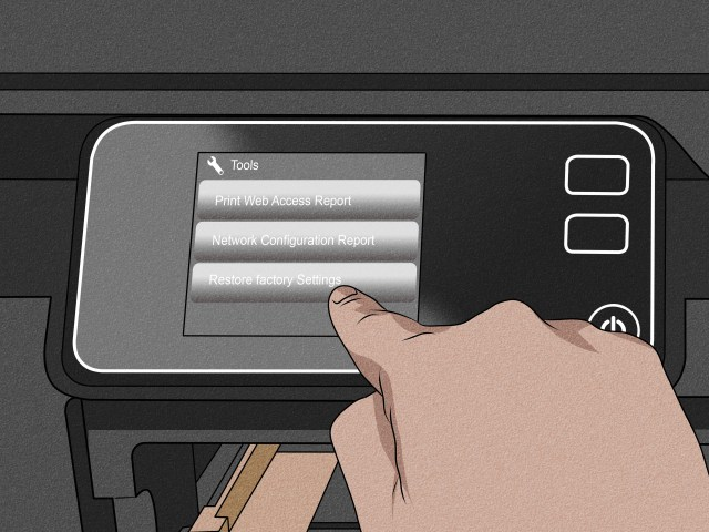 How to Reset an HP Photosmart Printer: 26 Steps (with Pictures)