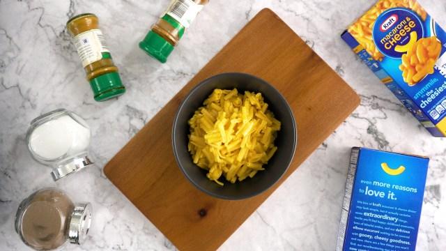 Kraft Macaroni and Cheese zubereiten