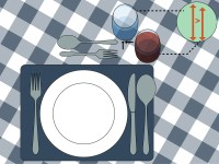 Ways To Set A Table Wikihow | Download Lengkap