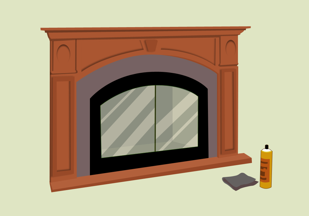 How to Clean Fireplace Glass  wikiHow
