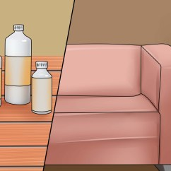 Leather Sofa Cleaning Kit Mayo Sofas How To Patch A Couch 14 Steps With Pictures