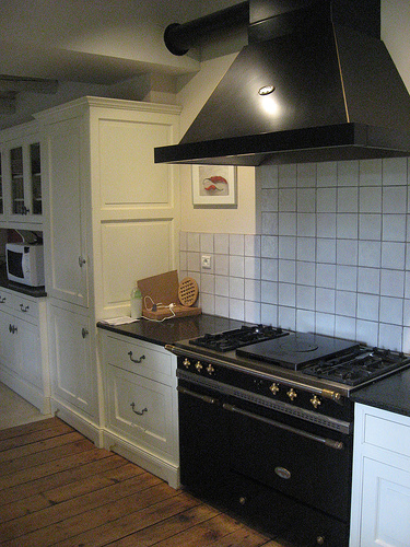 extractor fan kitchen wenge wood cabinets how to remove a vented hood fan: 13 steps - wikihow