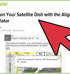 how to install dish network satellite tv indoors [ 1024 x 768 Pixel ]