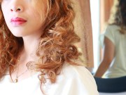 style naturally curly hair