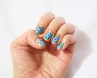 bubble nail art design how to paint a bubble design on ...