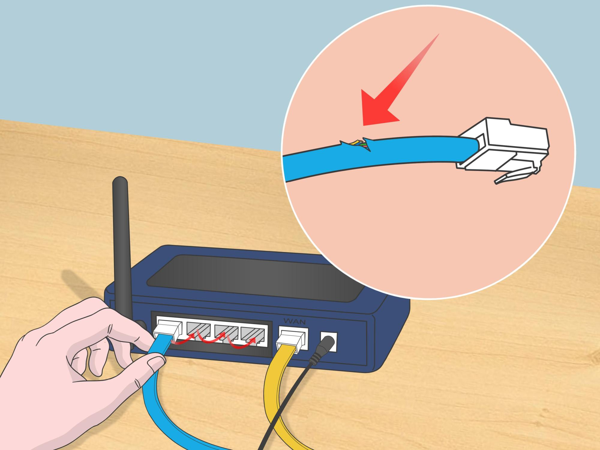 hight resolution of for router to modem cable wiring diagram