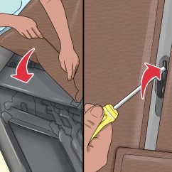 Swivel Chair Disassembly Desk Toilet 3 Ways To Dismantle A Recliner Sofa Wikihow How