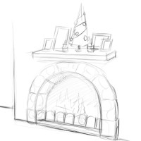 How to Draw a Fireplace: 12 Steps (with Pictures) - wikiHow