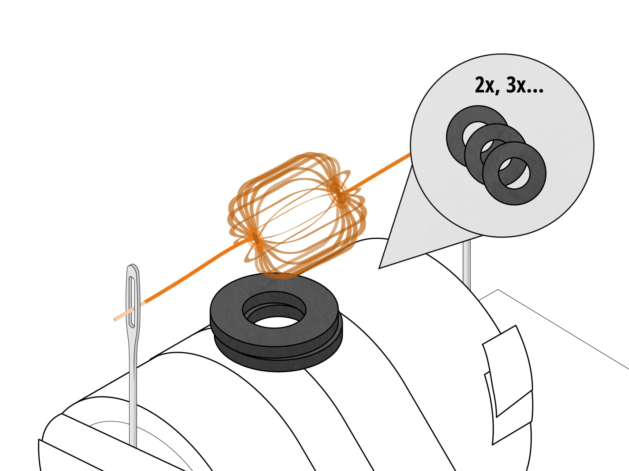 hight resolution of how to build a simple electric motor
