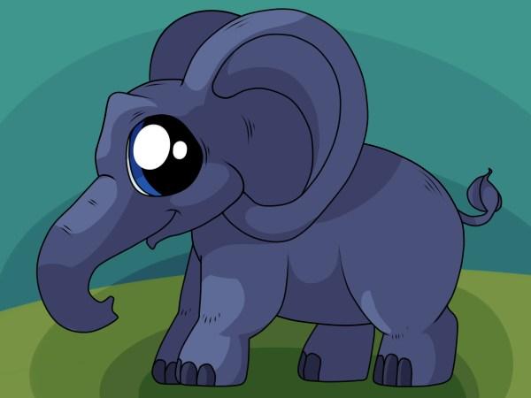 4 Ways Draw Elephant - Wikihow