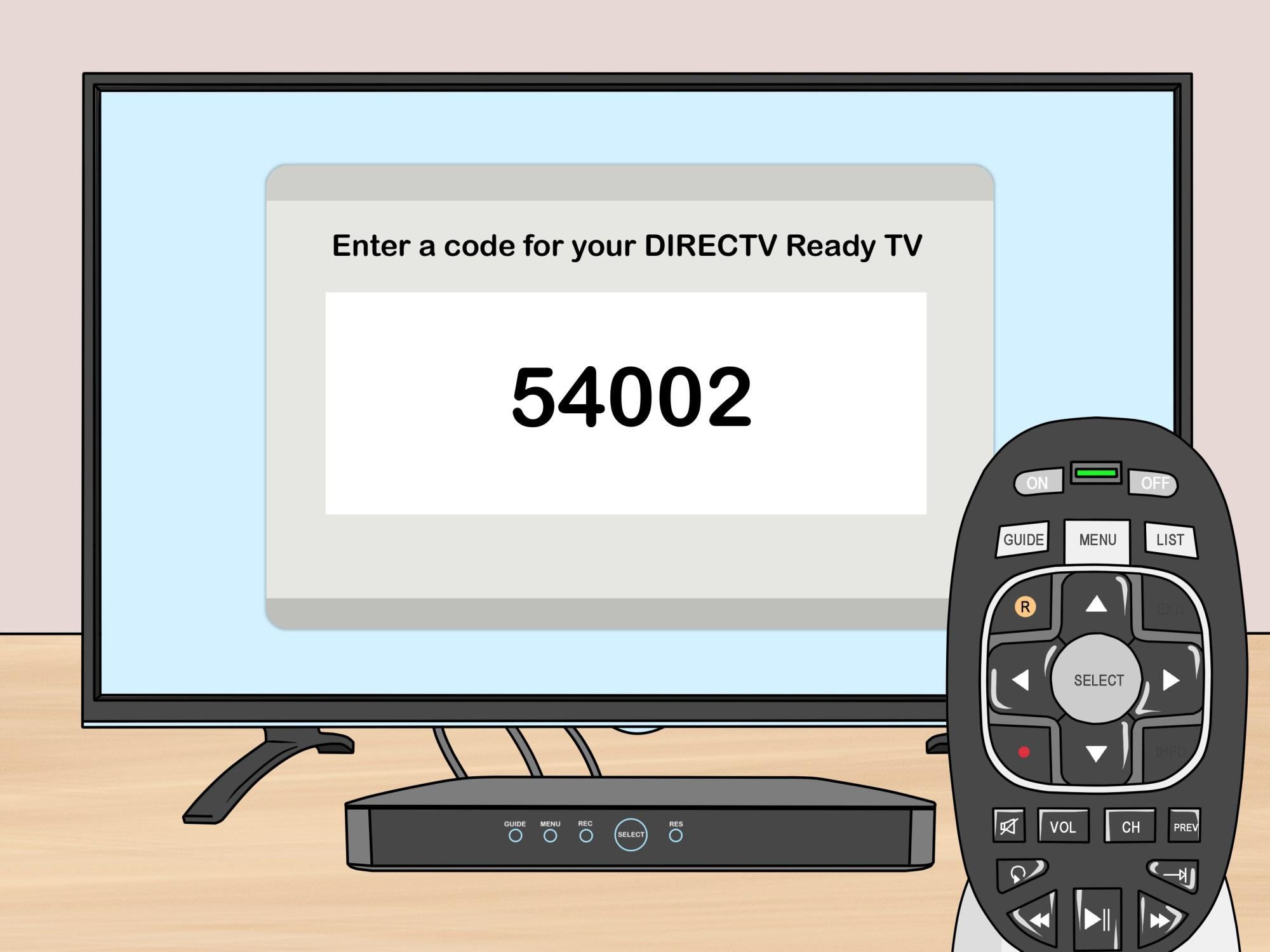 hight resolution of how to program a directv genie remote