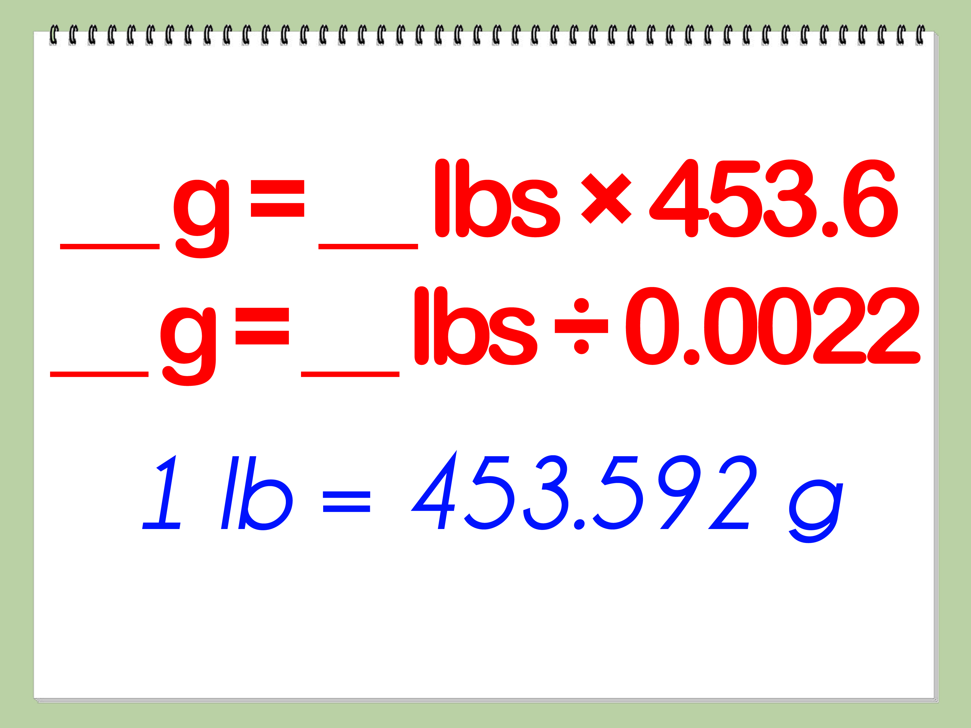 ways to convert metric weight pounds wikihow