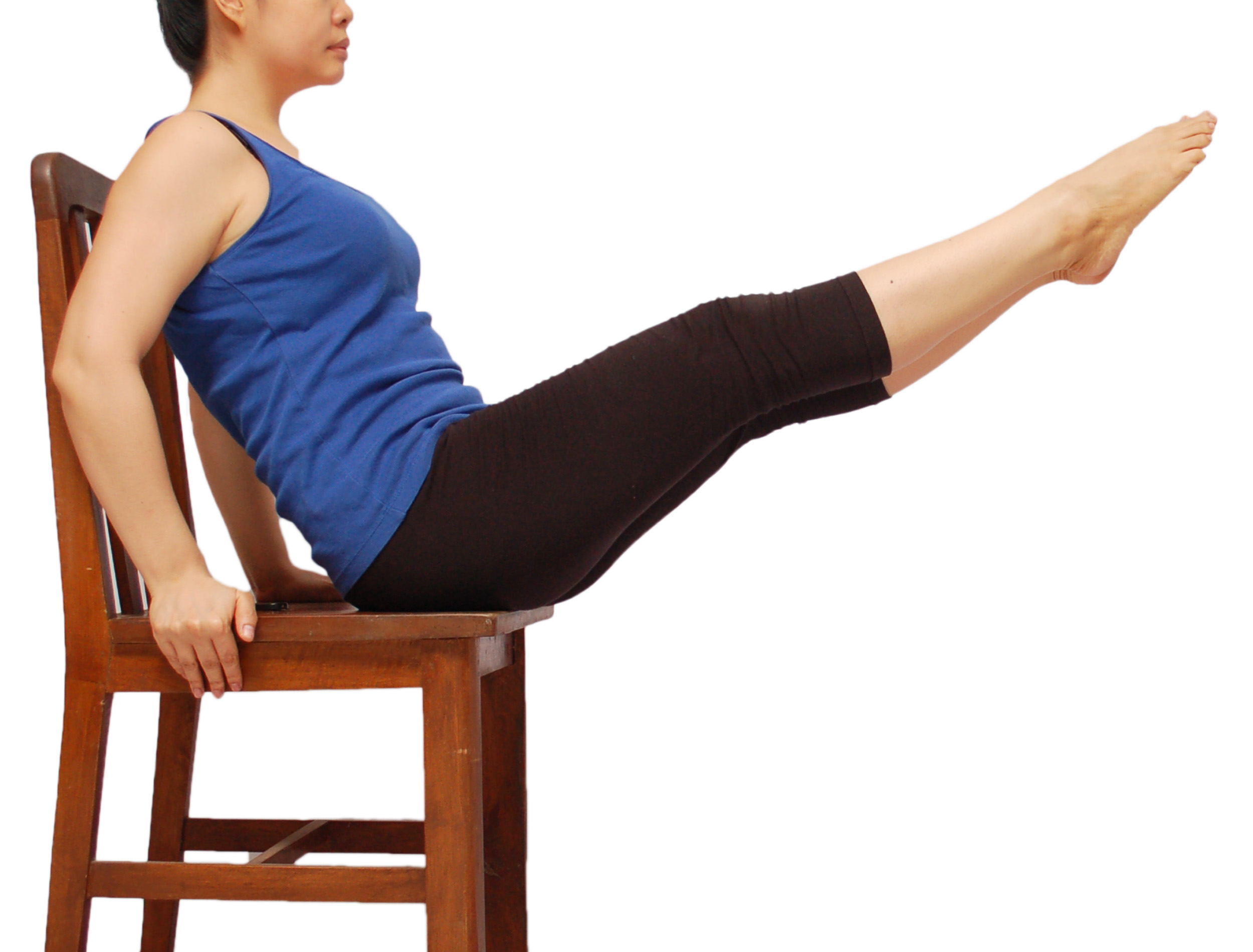 chair exercises for abs used wheelchair van 5 ways to do an workout in a wikihow