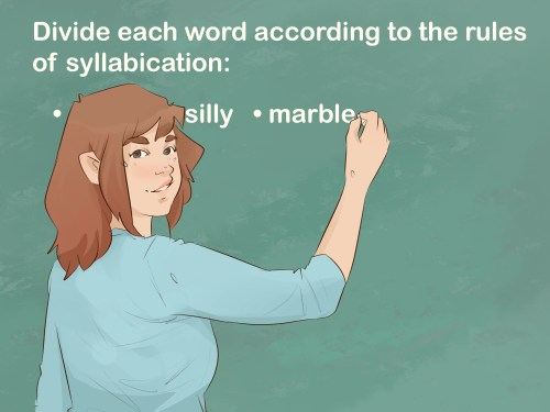small resolution of How to Teach and Learn Syllabication (with Pictures) - wikiHow