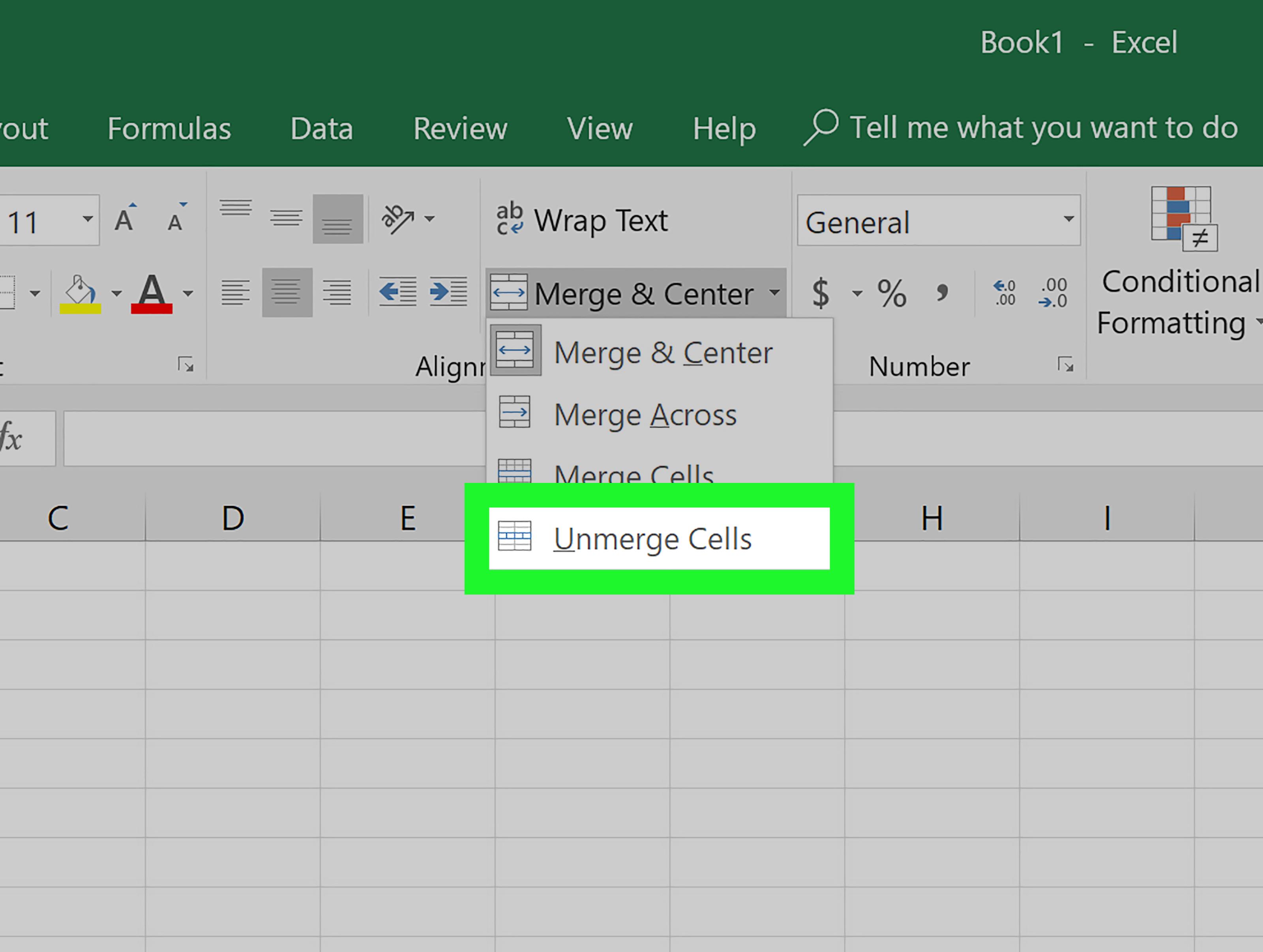 Come Dividere Delle Celle In Excel 5 Passaggi