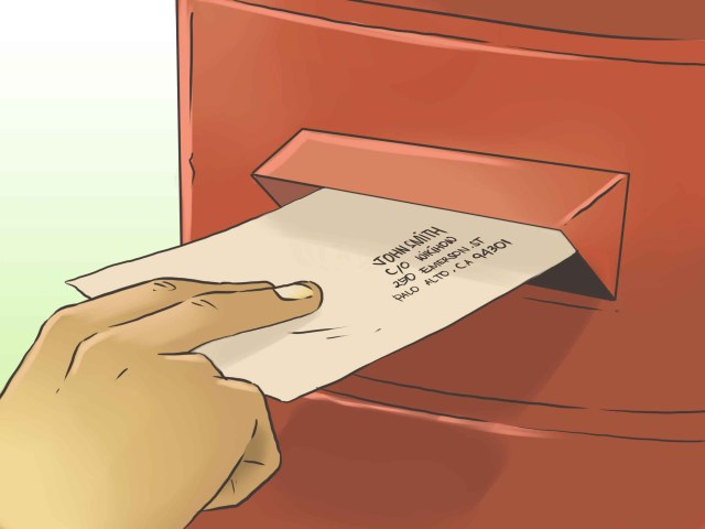 9 Ways to Address an Envelope in Care of Someone Else - wikiHow