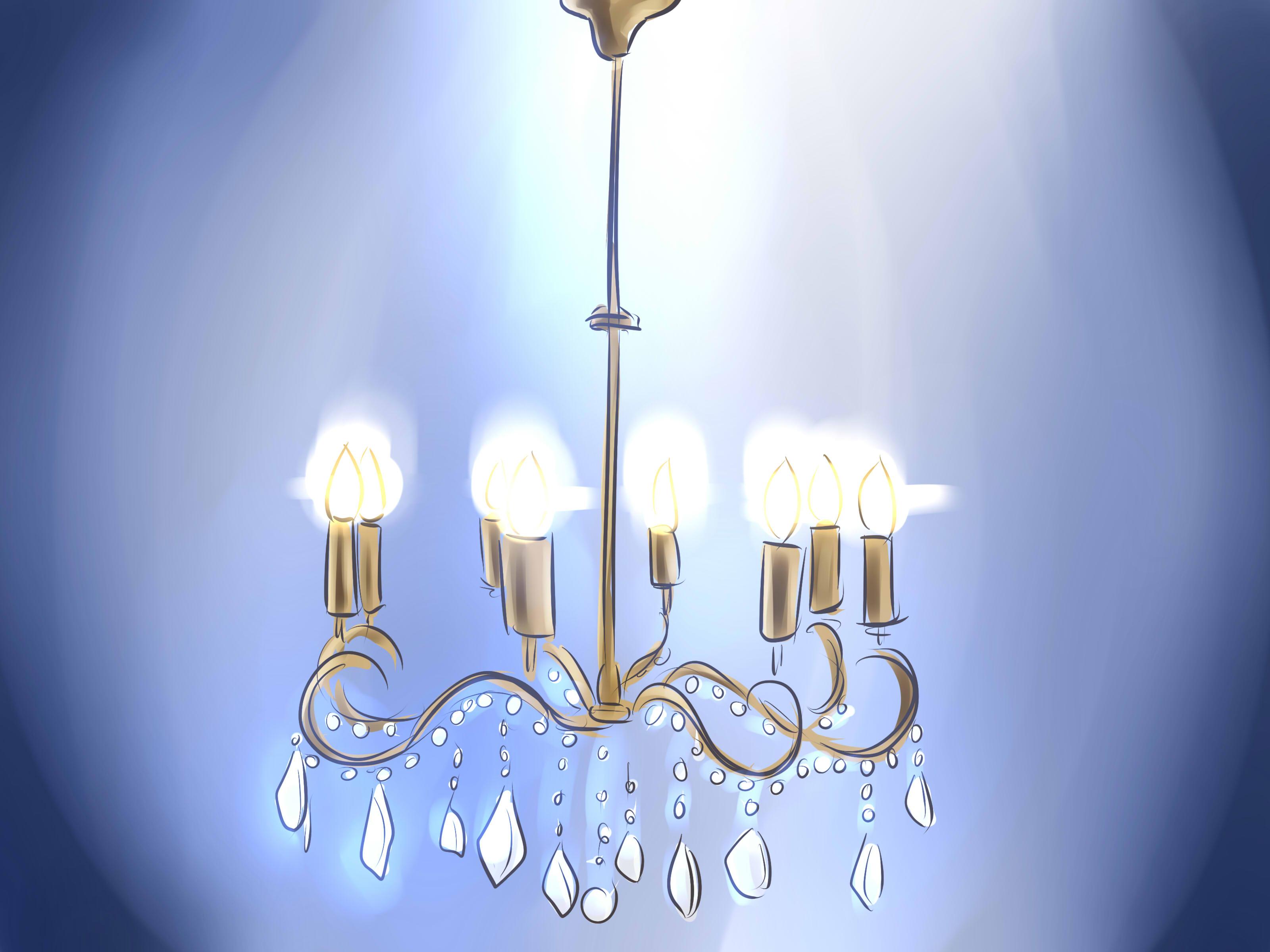 I lampadari di cristallo rendono immediatamente un ambiente elegante e raffinato e non hanno per forza un linea antiquata. Come Pulire Un Lampadario Di Cristallo 8 Passaggi