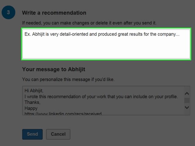 Eine LinkedIn Empfehlung schreiben: 17 Schritte – wikiHow