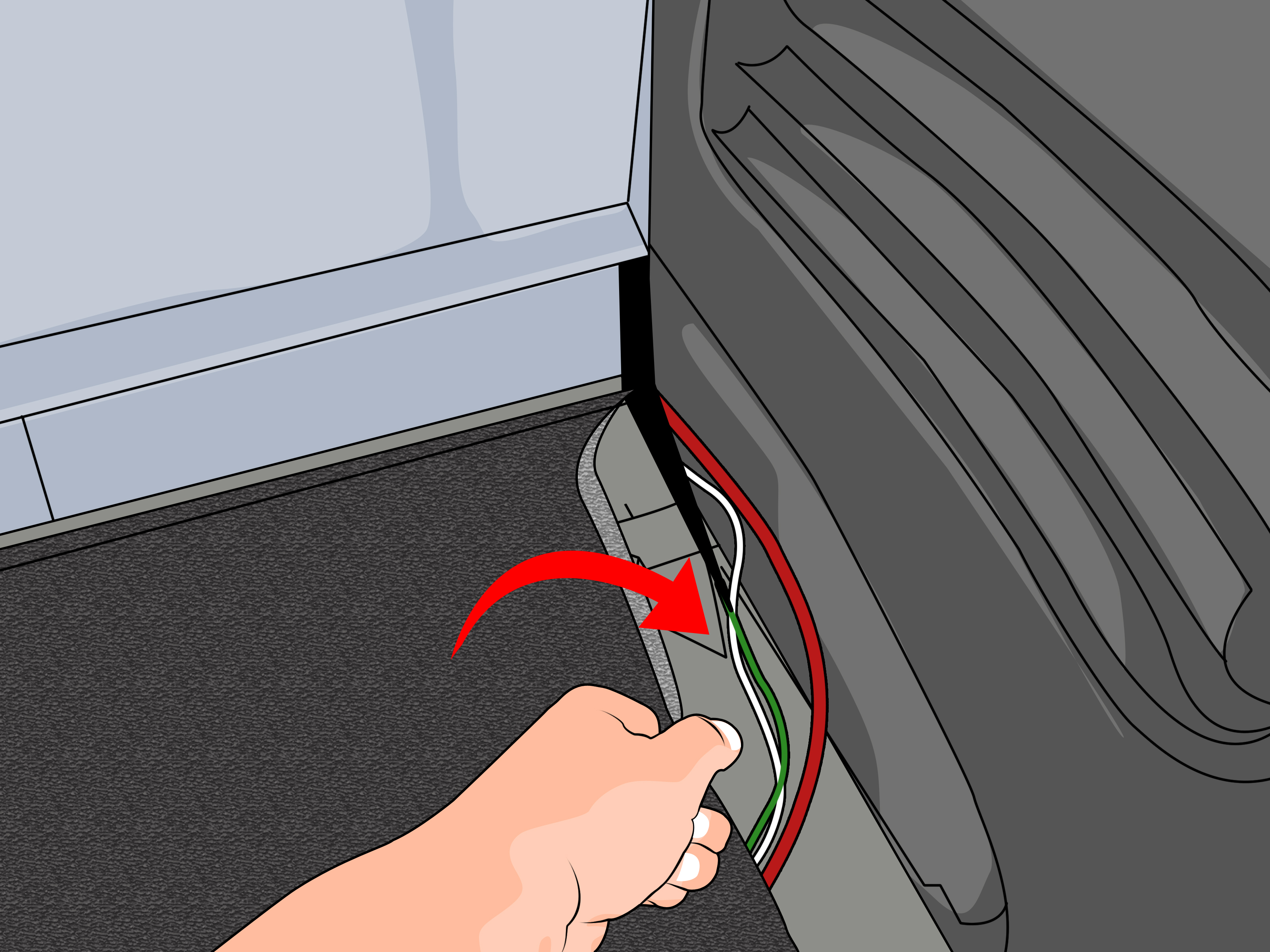 peugeot 207 wiring diagram 2007 ford f150 brake light 4 ways to disable a seat belt alarm - wikihow