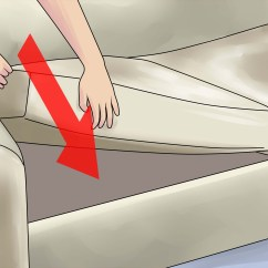 How To Fix A Sofa Spring Buchannan Microfiber Reviews Sagging Couch 14 Steps With Pictures Wikihow