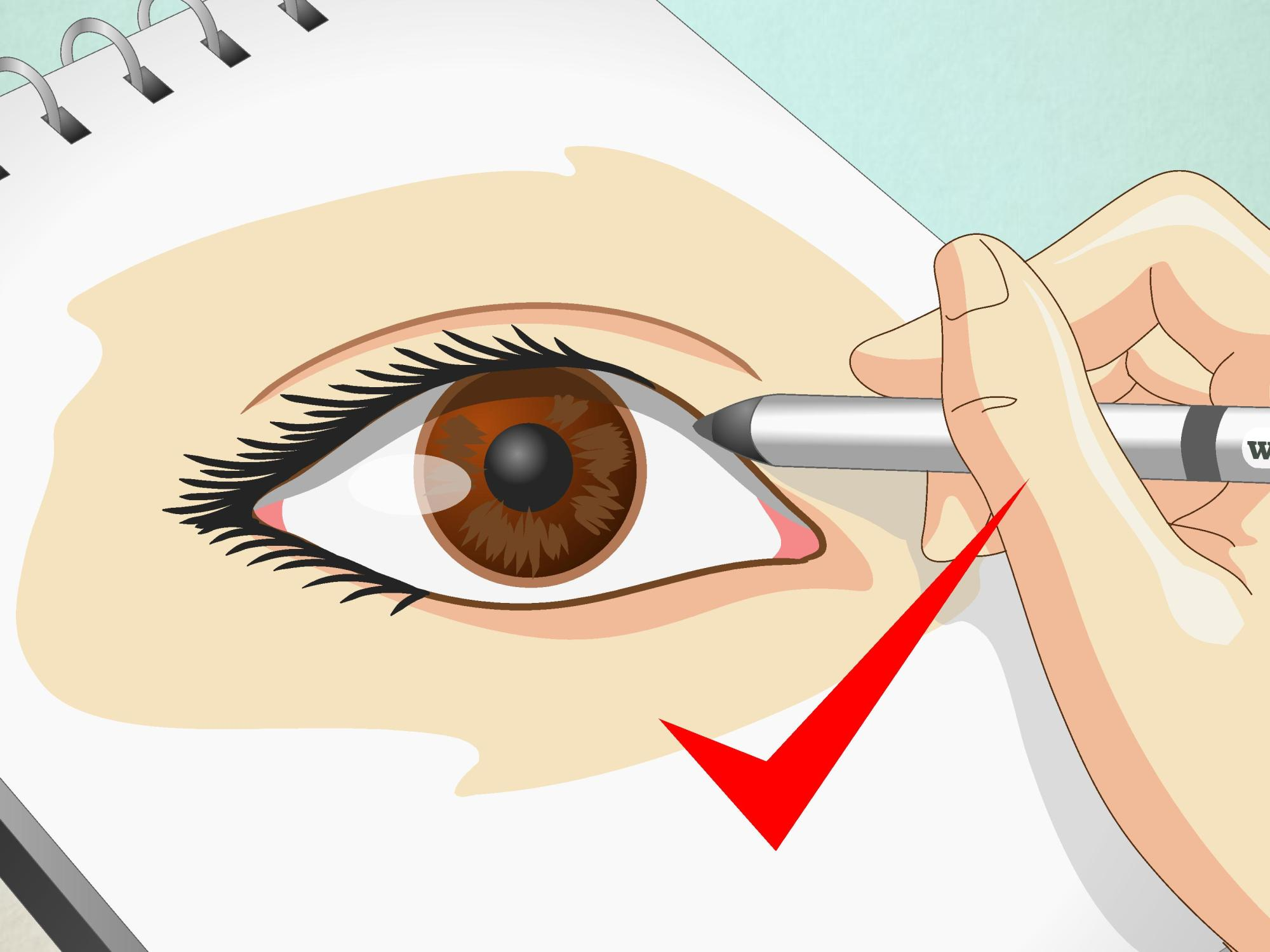 hight resolution of how to draw human eyes