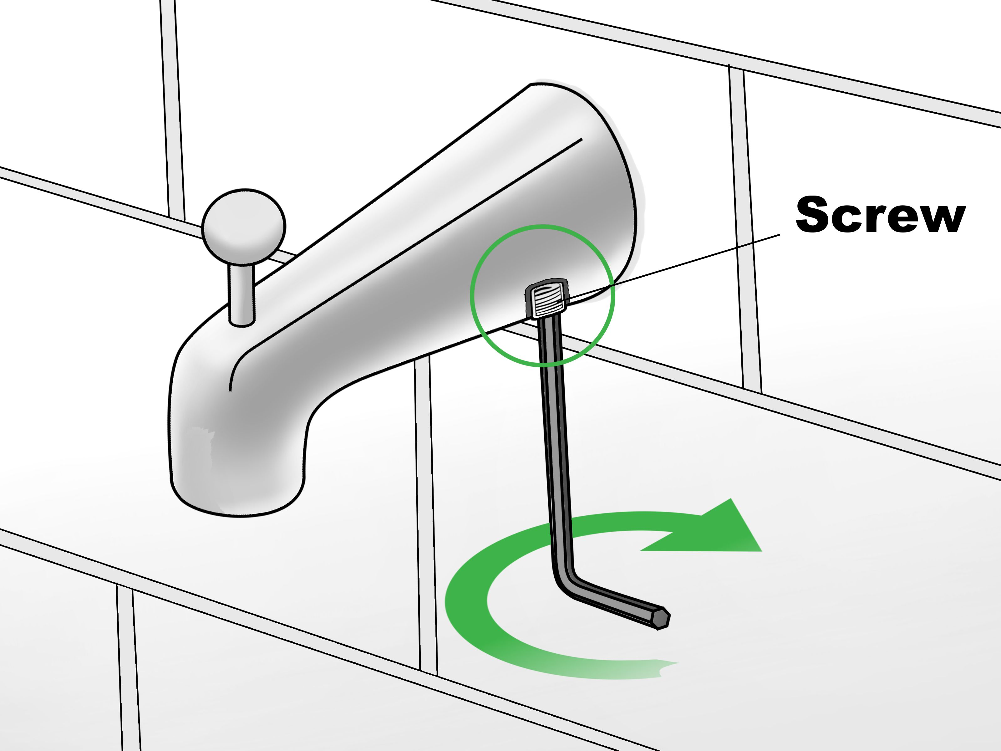 3 Ways to Remove a Tub Faucet