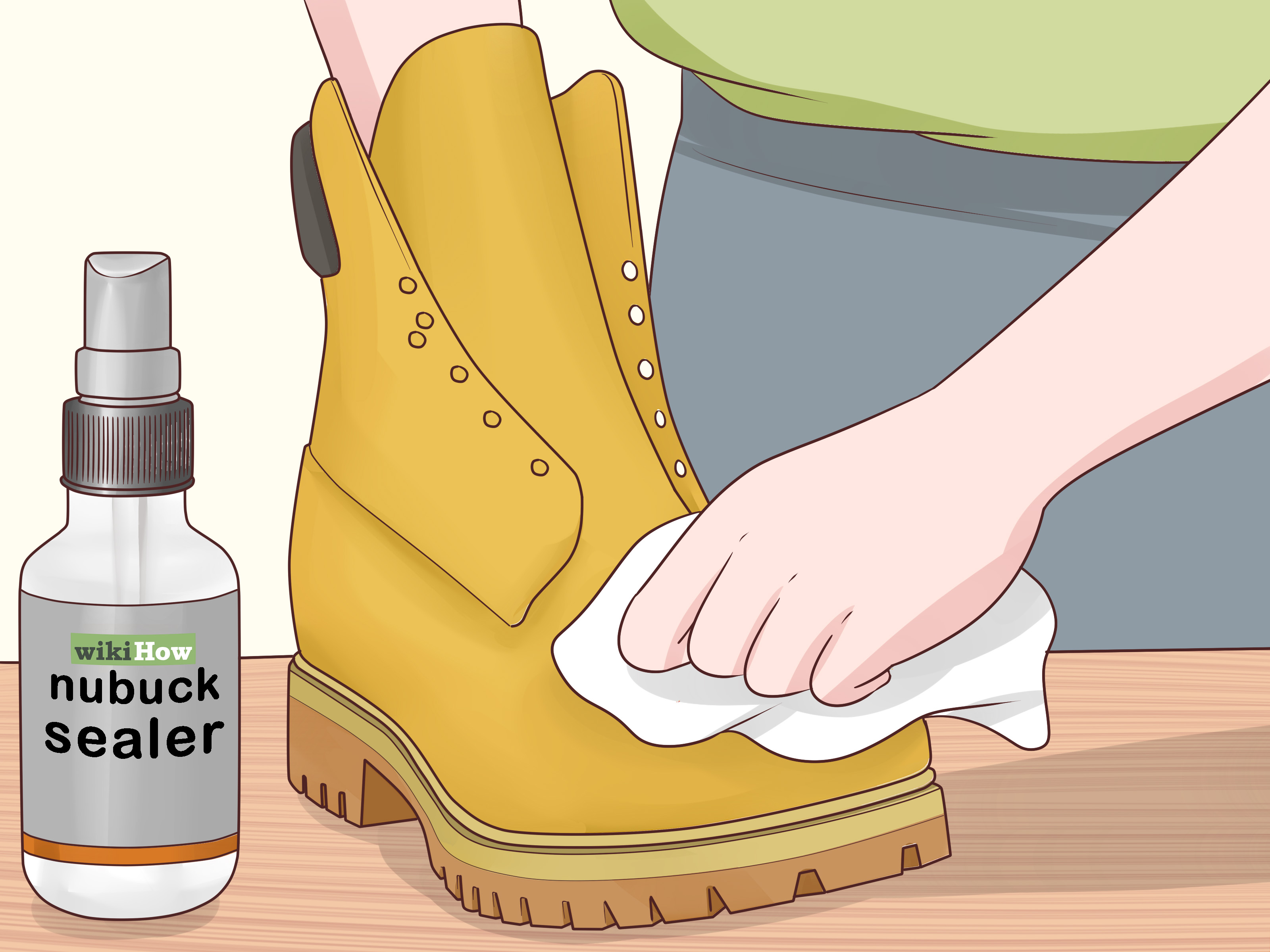How to Clean Timberland Boots with Pictures  wikiHow