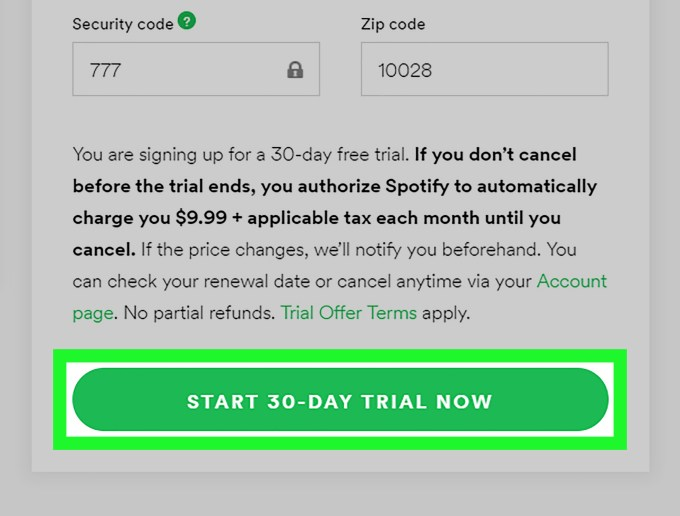 3 Ways To Get A Free Trial Of Spotify Premium Wikihow