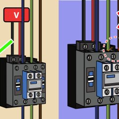 1 Phase Contactor With Overload Wiring Diagram Gram Positive Cell Wall How To Wire A 8 Steps Pictures Wikihow
