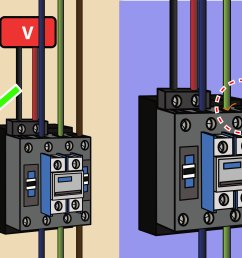 how to wire a contactor 8 steps with pictures wikihow rh wikihow com 2 pole contactor wiring diagram tork lighting contactor wiring diagram [ 3200 x 2400 Pixel ]