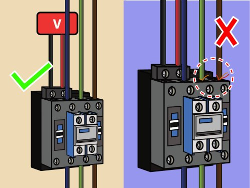 small resolution of how to wire a contactor