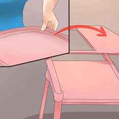 How To Fold Up A Cosco High Chair Ergo Office Philippines With Pictures Wikihow