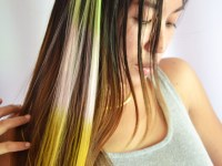 How to Make Clip on Hair Streaks: 9 Steps (with Pictures)
