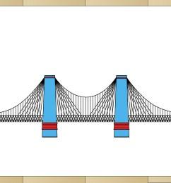 how to draw suspension bridges [ 3300 x 2400 Pixel ]