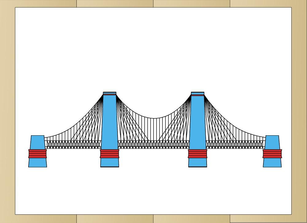 medium resolution of how to draw suspension bridges