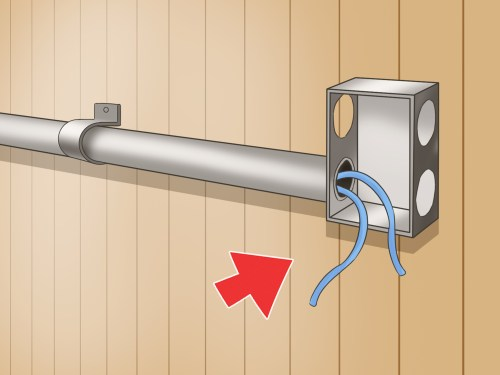 small resolution of how to install electrical conduits