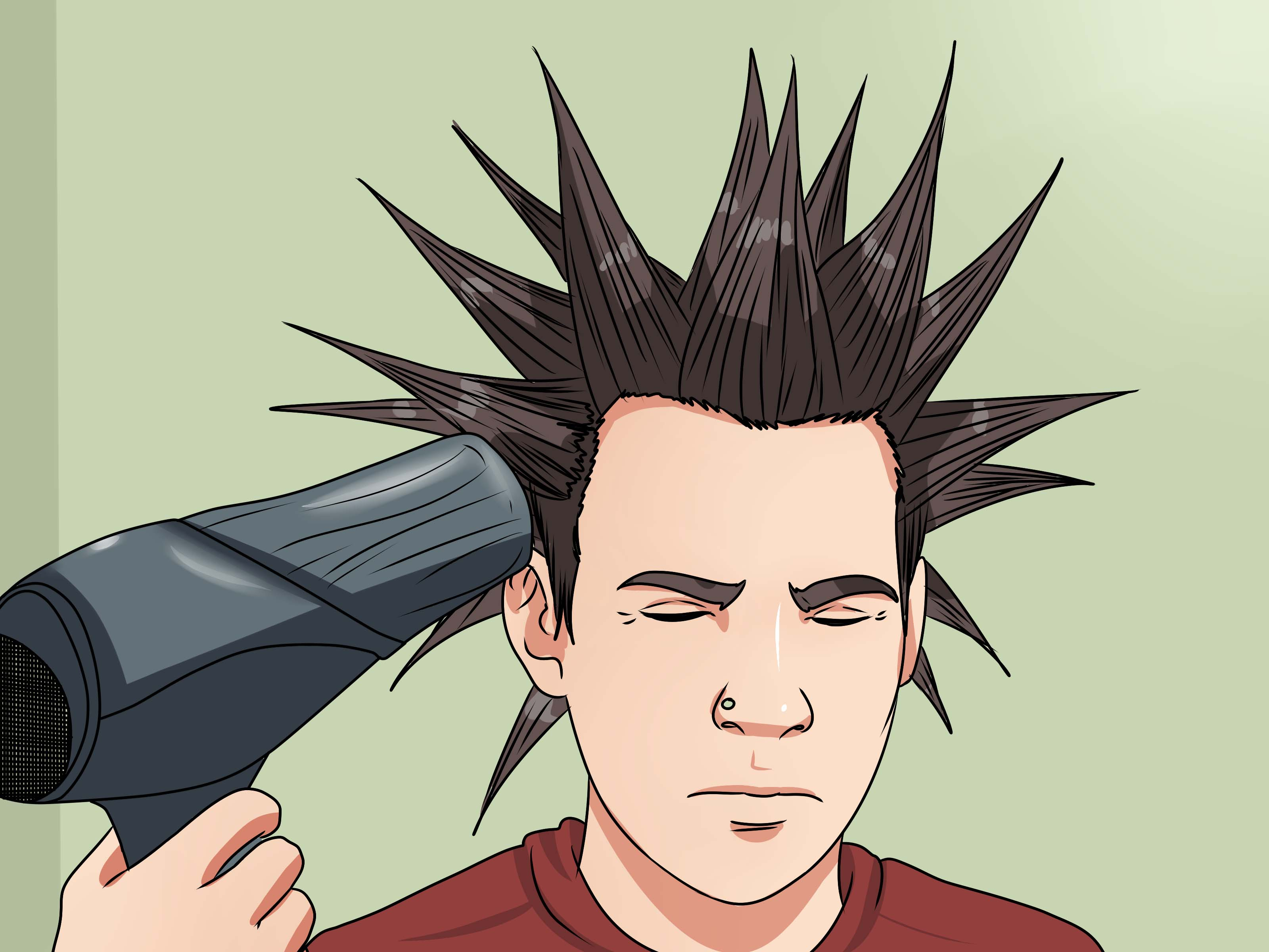 How To Liberty Spike Your Hair 12 Steps With Pictures