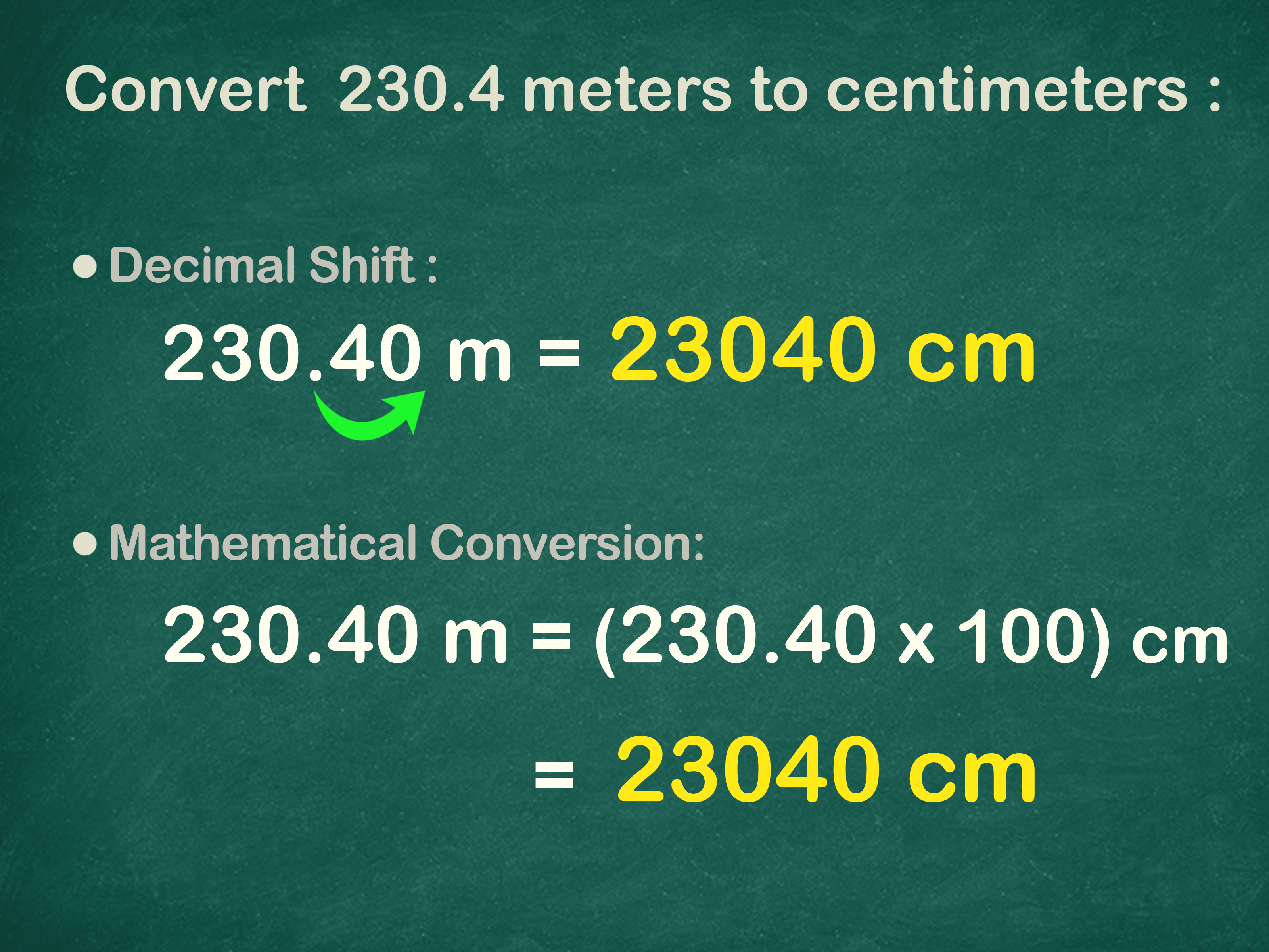 3 Easy Ways To Convert Centimeters To Meters Cm To M