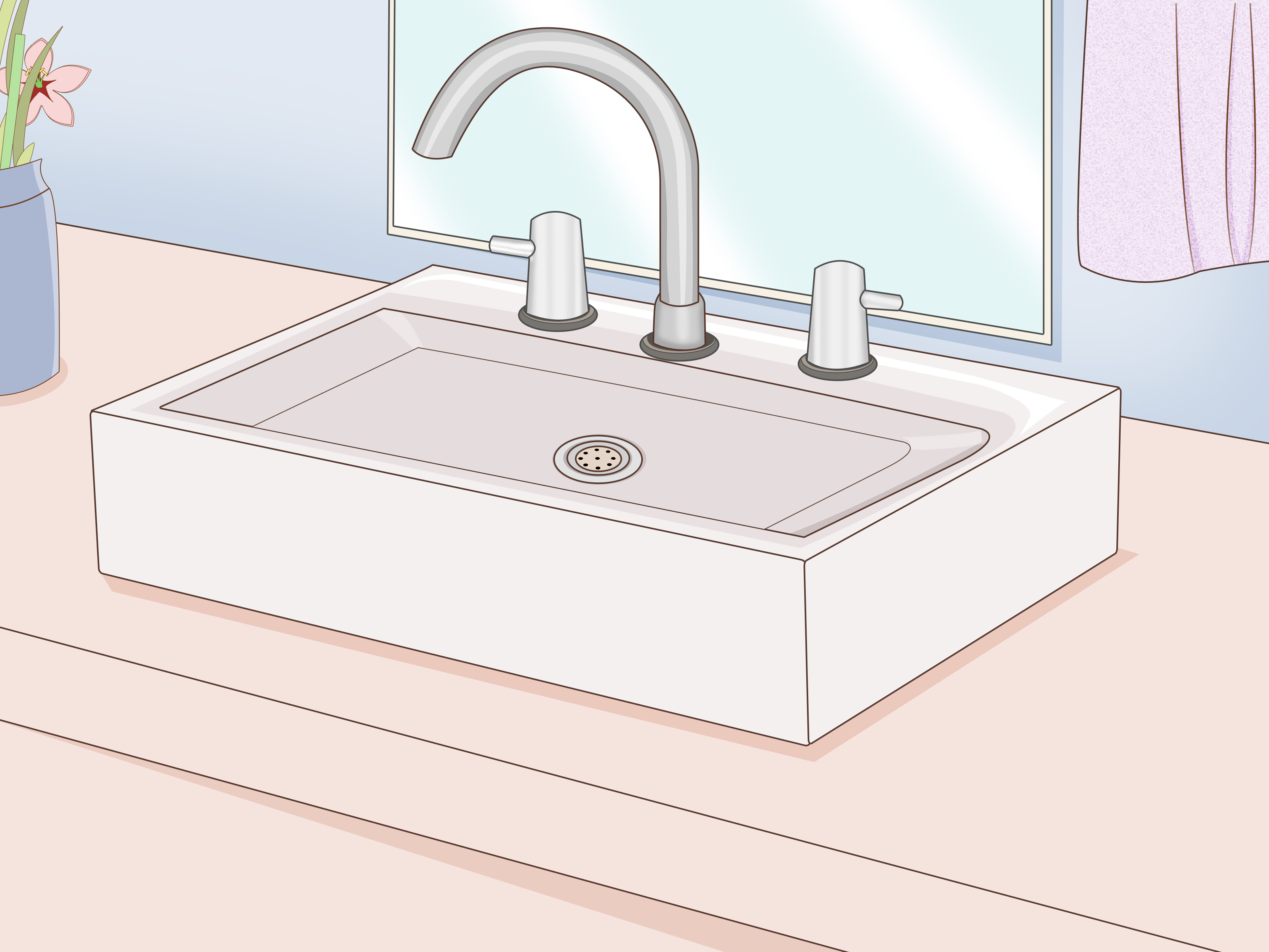 How to Replace a Bathroom Sink 14 Steps with Pictures