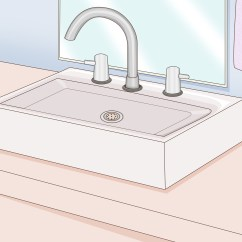 Replacing A Kitchen Sink Wusthof Knives How To Replace Bathroom 14 Steps With Pictures