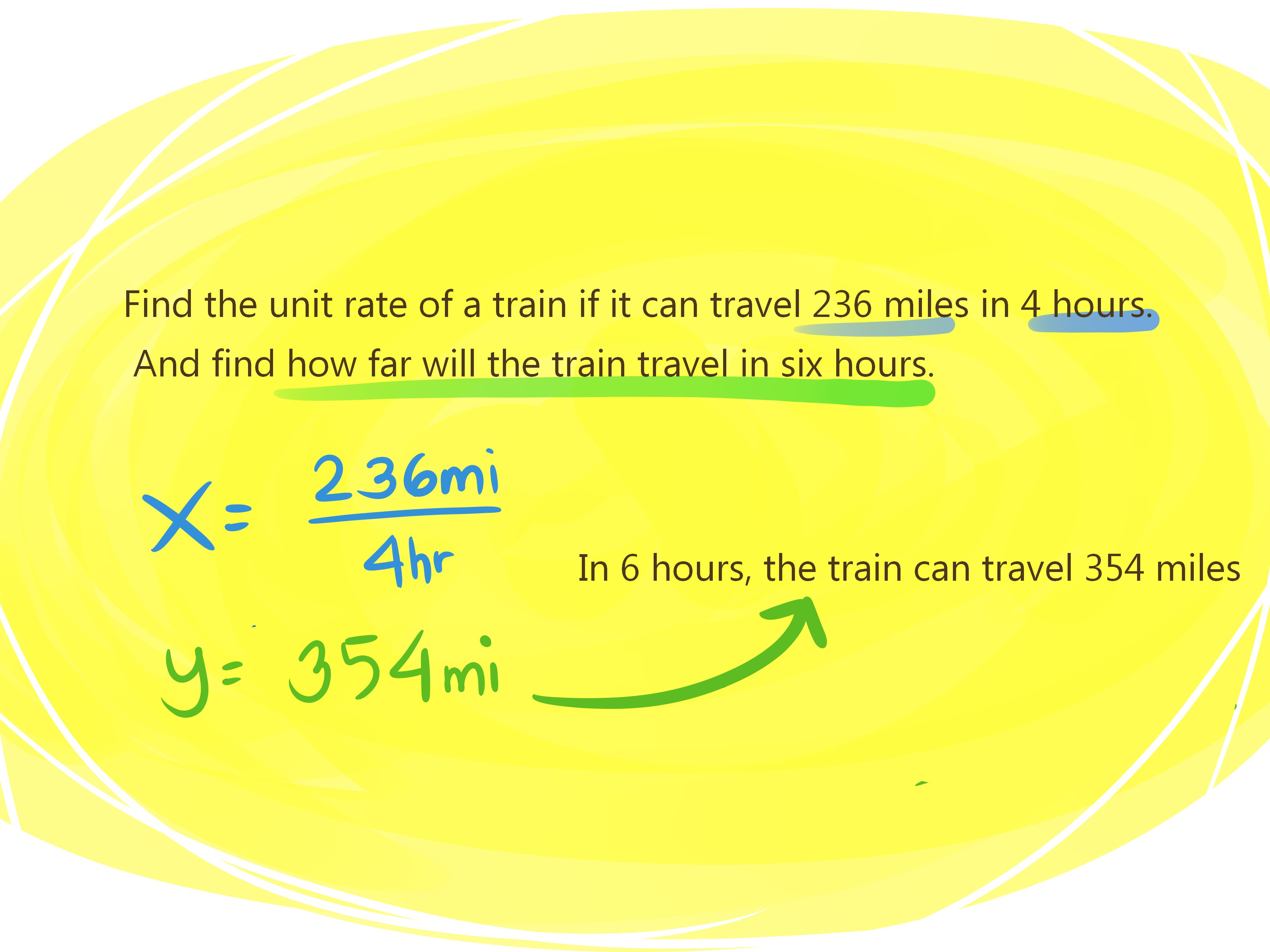 How To Do A Unit Rate 4 Steps With Pictures