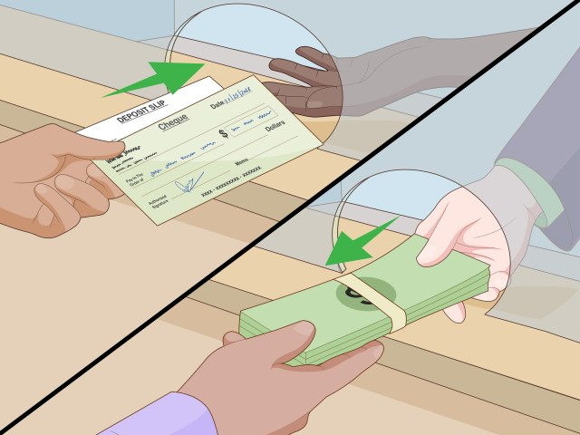 18 Ways to Cash a Check - wikiHow