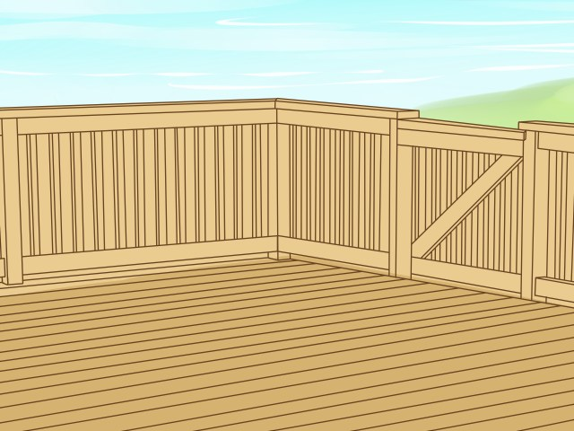 22 Ways to Clean Deck Wood - wikiHow