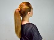 make high ponytail